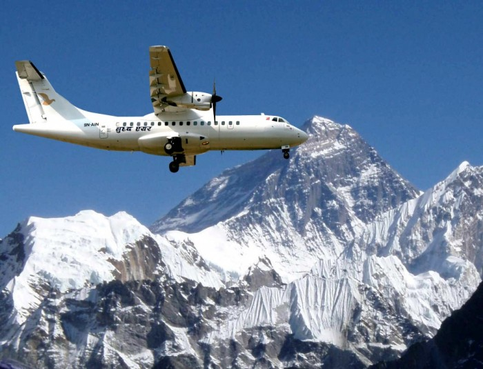 mountain flights-Ace vision Treks & Tours
