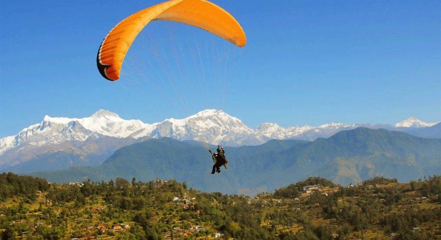 Paragliding,ace vision Nepal