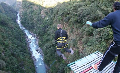 bunjee jump,Ace Vision Nepal