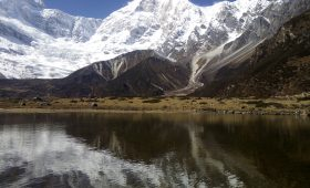 Visit to Manaslu area