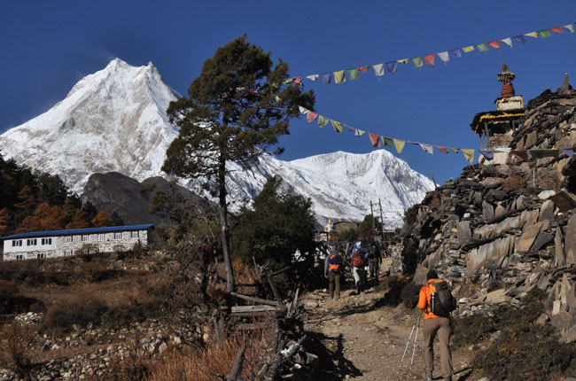 Famous Trekking routes in Nepal